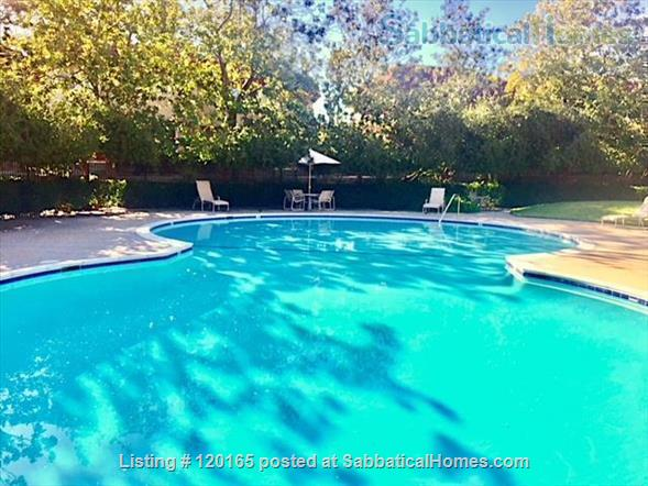 Fully Furnished Quiet 1BR/1.5BA Cupertino Townhouse Home Rental in Cupertino, California, United States 9