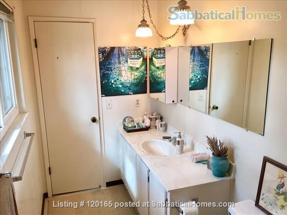 Fully Furnished Quiet 1BR/1.5BA Cupertino Townhouse Home Rental in Cupertino, California, United States 6
