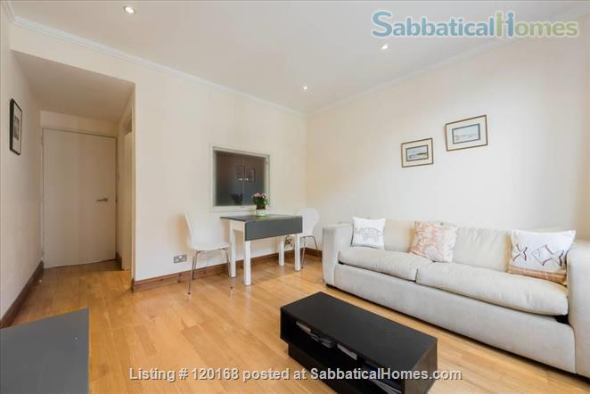 Kensington London ideal location apartment - term time only let possible Home Rental in Kensington, England, United Kingdom 4