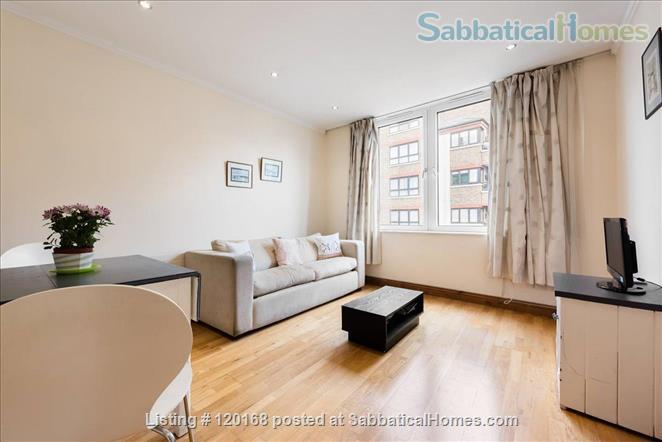 Kensington London ideal location apartment - term time only let possible Home Rental in Kensington, England, United Kingdom 5