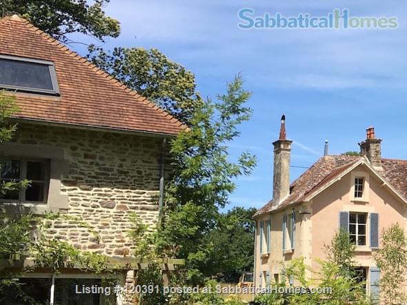 Manoir  or Lodge near the landing beaches.  Home Rental in Saint-Martin-de-Sallen, Normandie, France 1