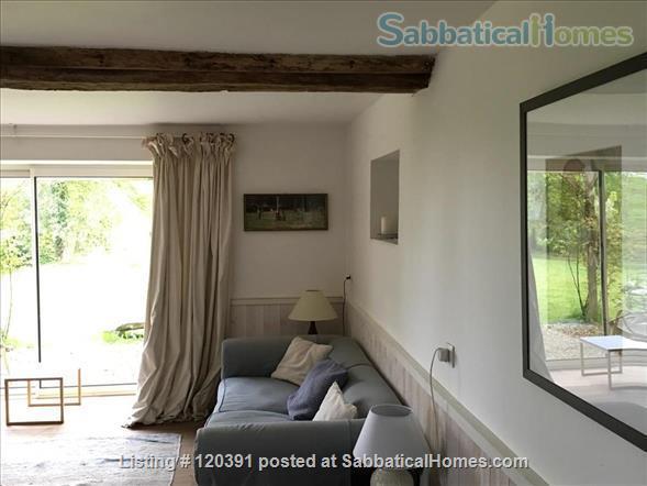 Manoir  or Lodge near the landing beaches.  Home Rental in Saint-Martin-de-Sallen, Normandie, France 5