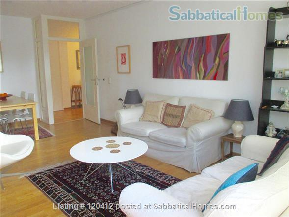 Sunny , modern 4,5 room apartment in green part of Charlottenburg, Berlin Home Rental in Berlin, Berlin, Germany 1