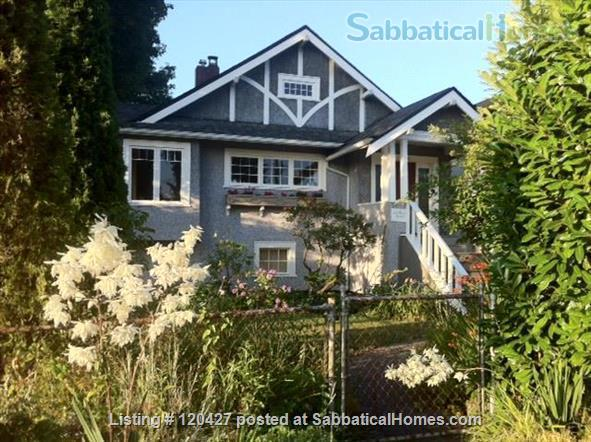 Lovely Character Home in Point Grey Home Rental in Vancouver, British Columbia, Canada 1