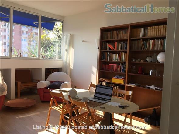 Very bright top floor one  bedroom apartment in Milan available for rent Home Rental in Milan, Lombardia, Italy 0