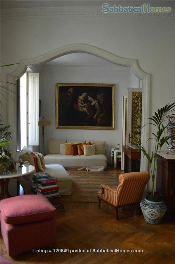 Elegant three bed apartment in the heart of Rome Home Rental in Rome, Lazio, Italy 1