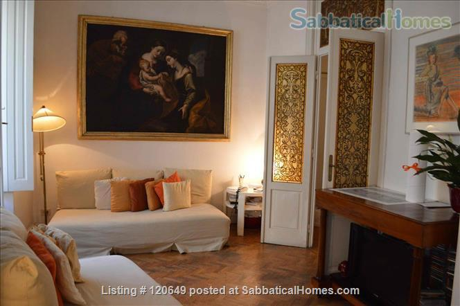 Elegant three bed apartment in the heart of Rome Home Rental in Rome, Lazio, Italy 0