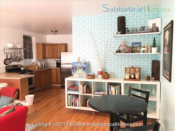 Cute and Cozy One Bedroom in the heart of Pilsen Home Rental in Chicago, Illinois, United States 0
