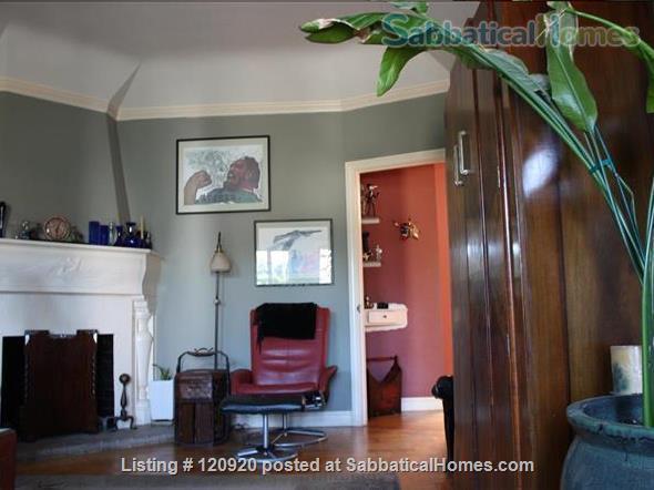 2BR/1BA Art Deco House 1 block fr.  Beach w/Parking Home Rental in San Francisco, California, United States 1