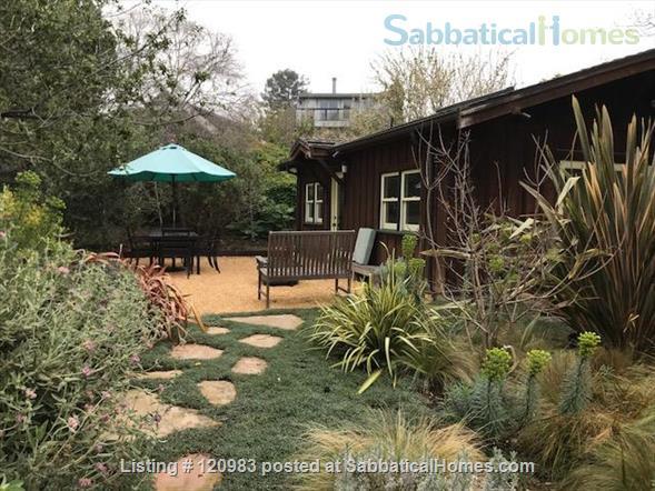 Lovely Fully-furnished Backyard Berkeley Cottage Home Rental in Berkeley, California, United States 6