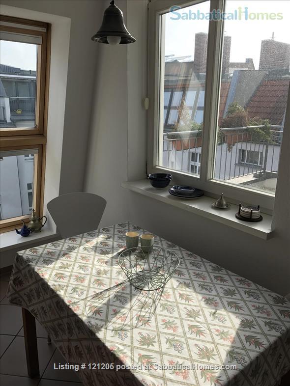 Luxury top-floor apt., 93qm & terrace in popular Bötzowviertel,  1-2 pers. Home Rental in Berlin, Berlin, Germany 1