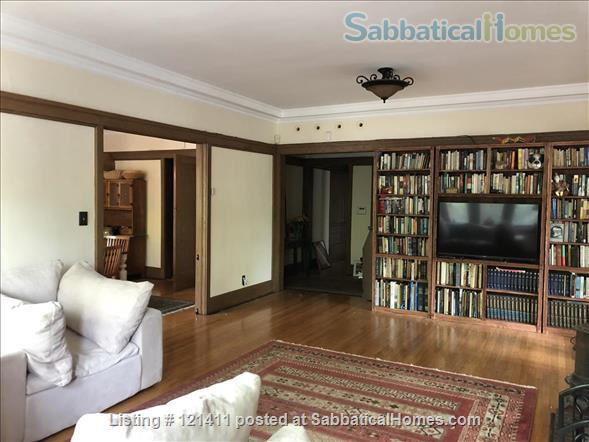 """Live Here!  The most beautiful, elegant building in Hyde Park. Fully restored,  furnished,   """"The Mews"""" 4 Bed/ 3 Bath apartment on U of C's Campus Home Rental in Chicago, Illinois, United States 1"""