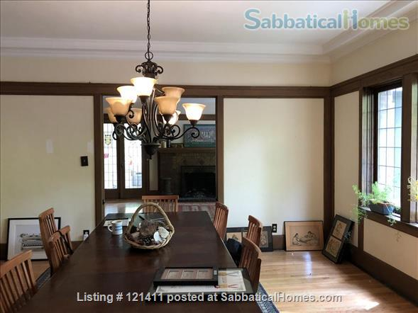 """Live Here!  The most beautiful, elegant building in Hyde Park. Fully restored,  furnished,   """"The Mews"""" 4 Bed/ 3 Bath apartment on U of C's Campus Home Rental in Chicago, Illinois, United States 4"""