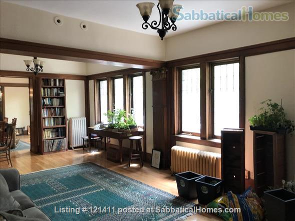 """Live Here!  The most beautiful, elegant building in Hyde Park. Fully restored,  furnished,   """"The Mews"""" 4 Bed/ 3 Bath apartment on U of C's Campus Home Rental in Chicago, Illinois, United States 5"""