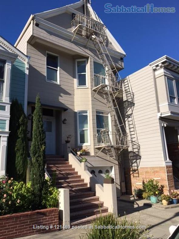 Charming San Francisco Apartment with Parking-Top Location Home Rental in San Francisco, California, United States 4