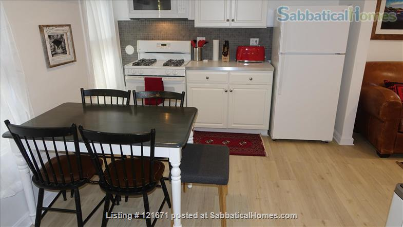 Furnished 1BR 1BA on T, Central Sq. between MIT & Harvard Home Rental in Cambridge, Massachusetts, United States 3