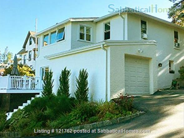 Deck with river view in Tarrytown plus express train to Manhattan Home Rental in Tarrytown, New York, United States 0