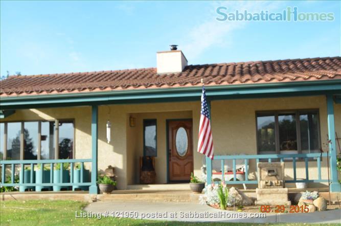 Wine Country Estate Home Rental in Atascadero, California, United States 1
