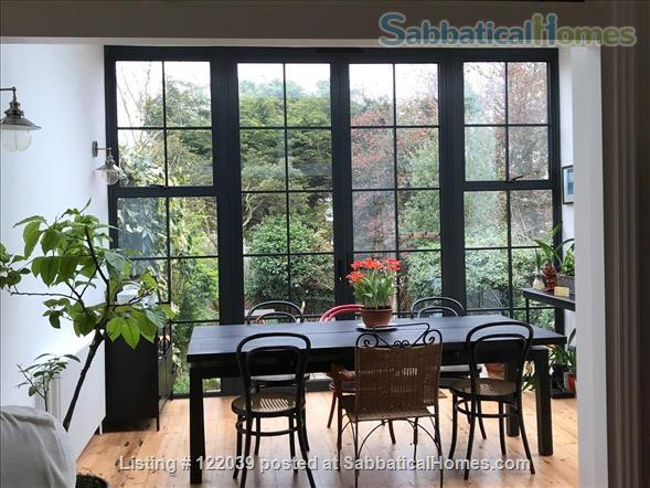 Garden apartment with 2 bedrooms in Edwardian village of Muswell Hill Home Rental in Greater London, England, United Kingdom 1