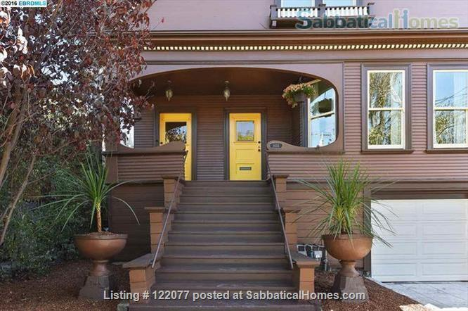 Gorgeous 5 bedroom Home in South Berkeley - perfect for family Home Rental in Berkeley, California, United States 1