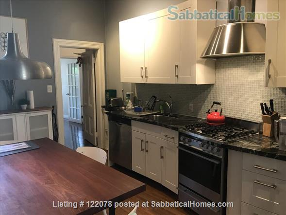 Victorian 1BR Apartment with Private Garden and Parking in Trinity-Bellwoods Home Rental in Toronto, Ontario, Canada 0