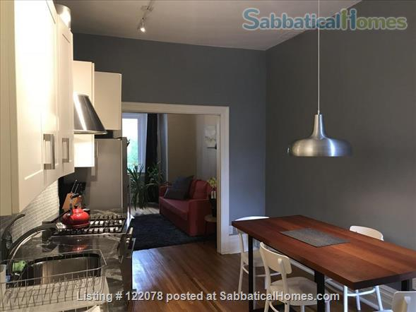 Victorian 1BR Apartment with Private Garden and Parking in Trinity-Bellwoods Home Rental in Toronto, Ontario, Canada 2