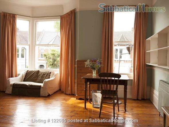 Unusually spacious room in very comfortable house with lovely garden  Home Rental in Stoke Newington, England, United Kingdom 1