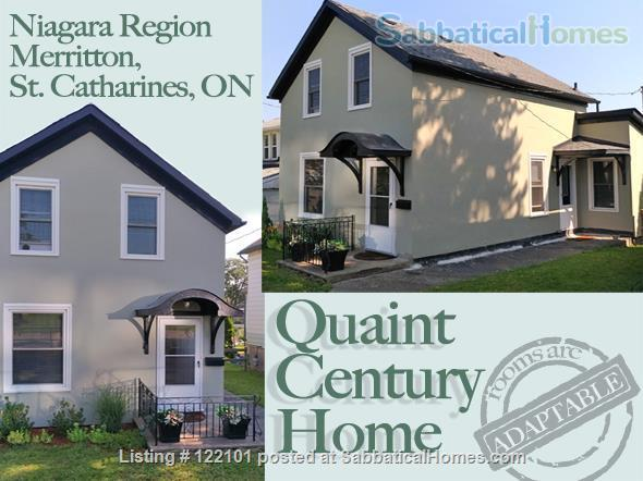 Quaint Century Home - Available August 2022! Home Rental in St Catharines, Ontario, Canada 1