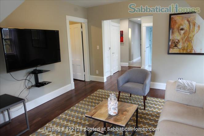 3br/1bath furnished, renovated condo in Victorian Home Rental in Brookline, Massachusetts, United States 1