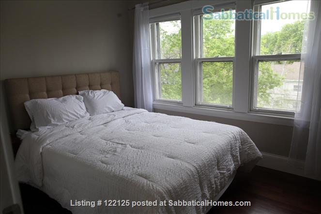 3br/1bath furnished, renovated condo in Victorian Home Rental in Brookline, Massachusetts, United States 3