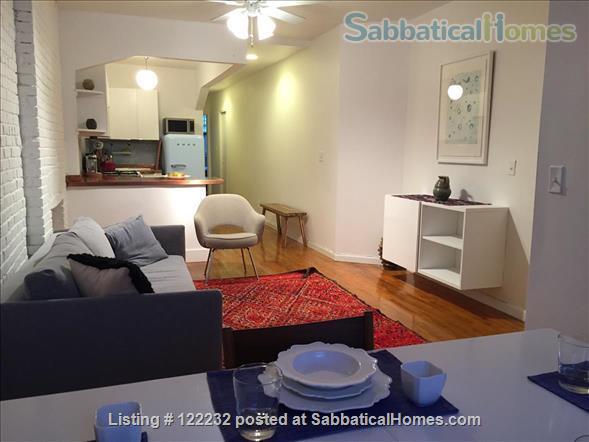 Artist's Garden Brownstone Apartment  Home Rental in New York, New York, United States 1