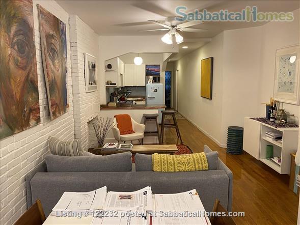 Artist's Garden Brownstone Apartment  Home Rental in New York, New York, United States 0