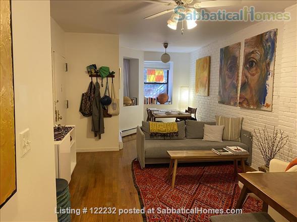 Artist's Garden Brownstone Apartment  Home Rental in New York, New York, United States 2