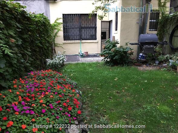 Artist's Garden Brownstone Apartment  Home Rental in New York, New York, United States 6