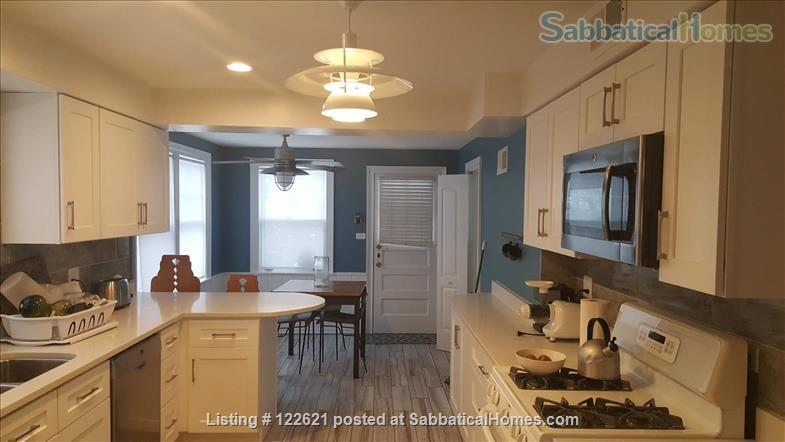 Spacious, Light-filled Furnished 4BD house with walkout balcony Skokie/Evanston /near Chicago Home Rental in Skokie, Illinois, United States 1