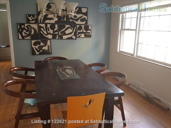 Spacious, Light-filled Furnished 4BD house with walkout balcony Skokie/Evanston /near Chicago Home Rental in Skokie, Illinois, United States 4