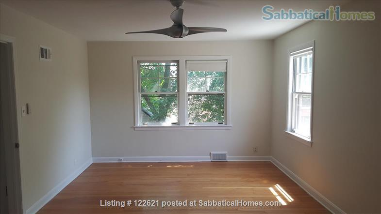 Spacious, Light-filled Furnished 4BD house with walkout balcony Skokie/Evanston /near Chicago Home Rental in Skokie, Illinois, United States 6