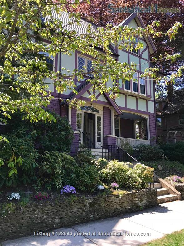 Private Victorian Home minutes to Boston College, Newbury College, 10 mins to Boston University, Simmons, Northeastern and all Hospitals in Brookline  Home Rental in Brookline, Massachusetts, United States 1