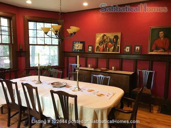 Private Victorian Home minutes to Boston College, Newbury College, 10 mins to Boston University, Simmons, Northeastern and all Hospitals in Brookline  Home Rental in Brookline, Massachusetts, United States 5