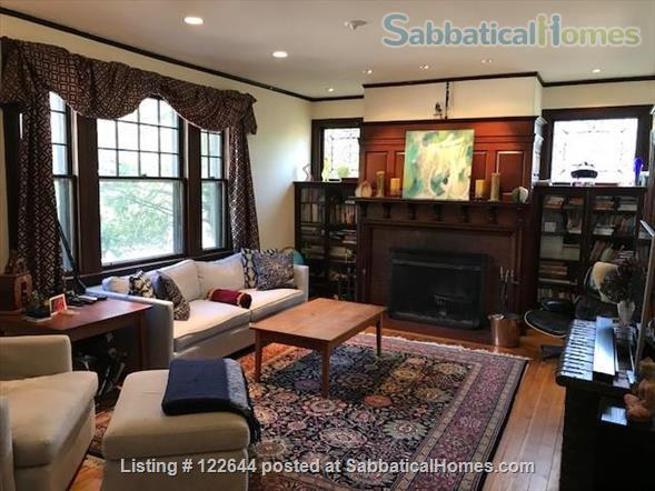 Private Victorian Home minutes to Boston College, Newbury College, 10 mins to Boston University, Simmons, Northeastern and all Hospitals in Brookline  Home Rental in Brookline, Massachusetts, United States 6