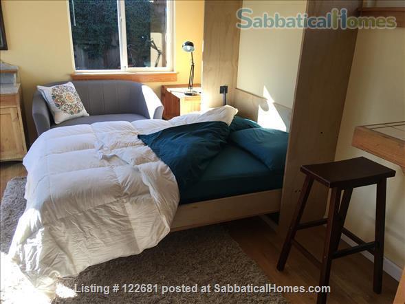 Bright, charming, cozy, private studio apartment. Home Rental in Berkeley, California, United States 2