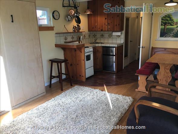 Bright, charming, cozy, private studio apartment. Home Rental in Berkeley, California, United States 3
