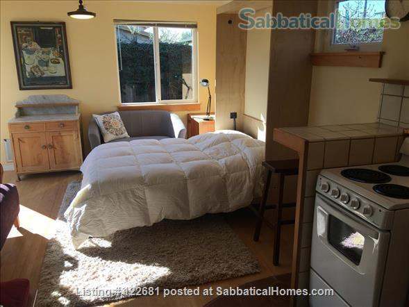 Bright, charming, cozy, private studio apartment. Home Rental in Berkeley, California, United States 6