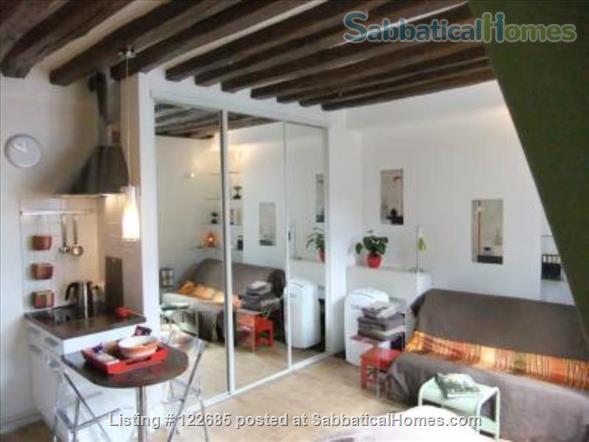 Romantic studio in historical Paris Home Rental in Paris, Île-de-France, France 1