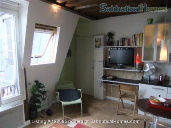 Romantic studio in historical Paris Home Rental in Paris, Île-de-France, France 2