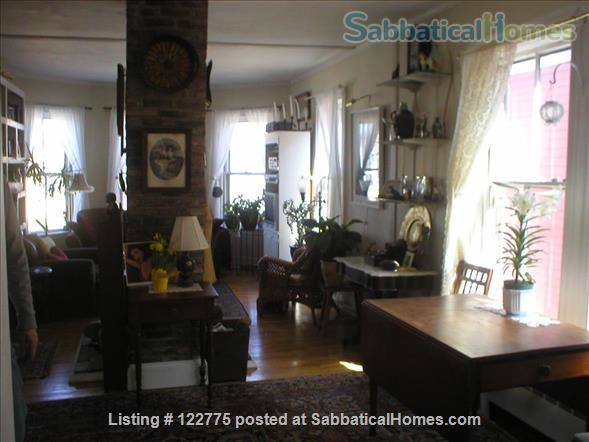 Open,sunny 3 bedroom condo, 12 minute walk to Harvard Square. Home Rental in Cambridge 2