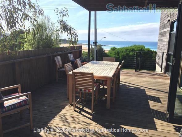 Beach Front Skenes Creek - Architect designed 3 bed house Home Rental in Skenes Creek, Victoria, Australia 3