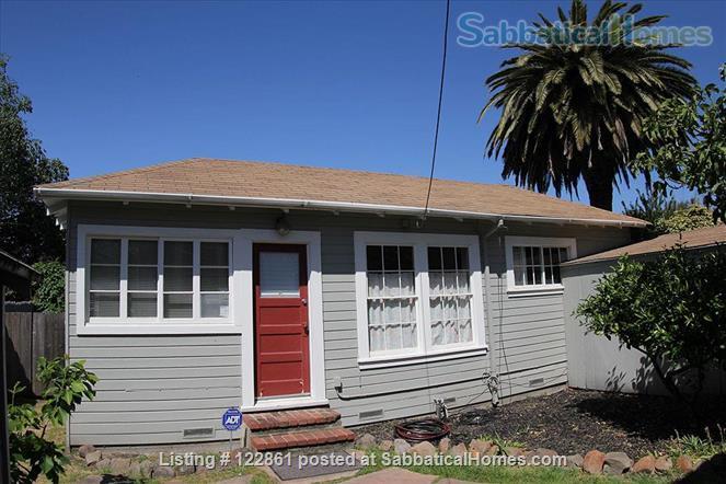 Charming Berkeley Cottage Home Rental in Berkeley, California, United States 0