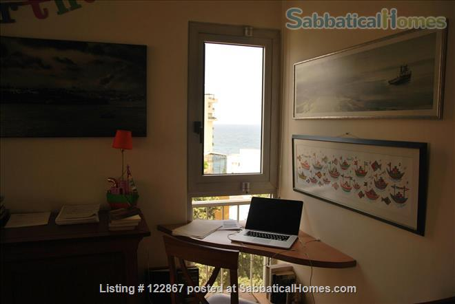 Sunny, Spacious Seaview Flat on Campus Home Rental in Beirut, Mount Lebanon Governorate, Lebanon 1