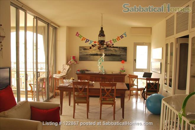 Sunny, Spacious Seaview Flat on Campus Home Rental in Beirut, Mount Lebanon Governorate, Lebanon 3
